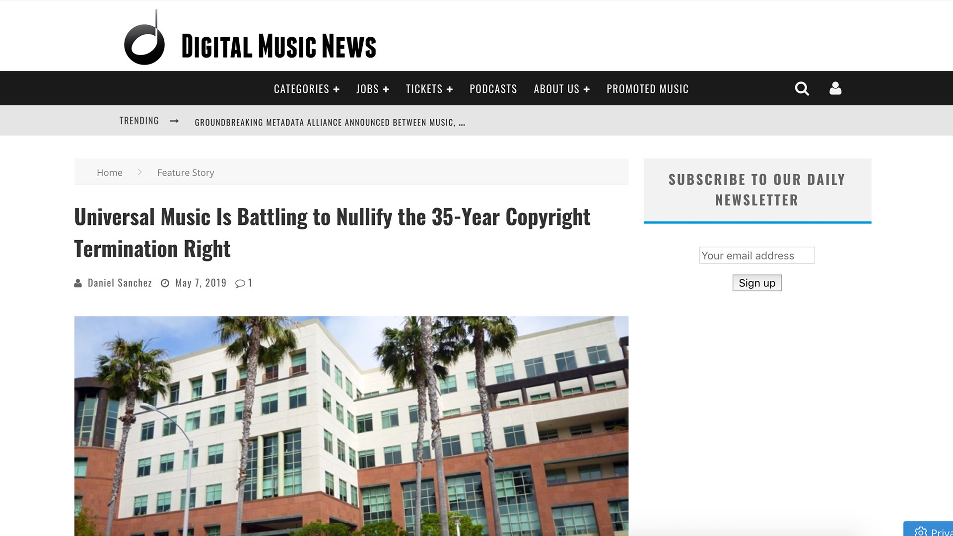 Fairness Rocks News Universal Music Is Battling to Nullify the 35-Year Copyright Termination Right