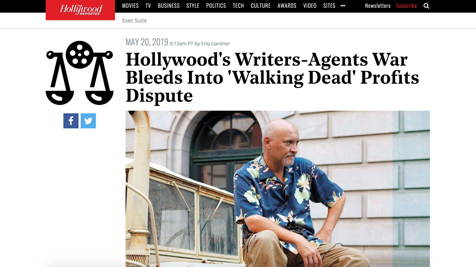 Fairness Rocks News Hollywood's Writers-Agents War Bleeds Into 'Walking Dead' Profits Dispute