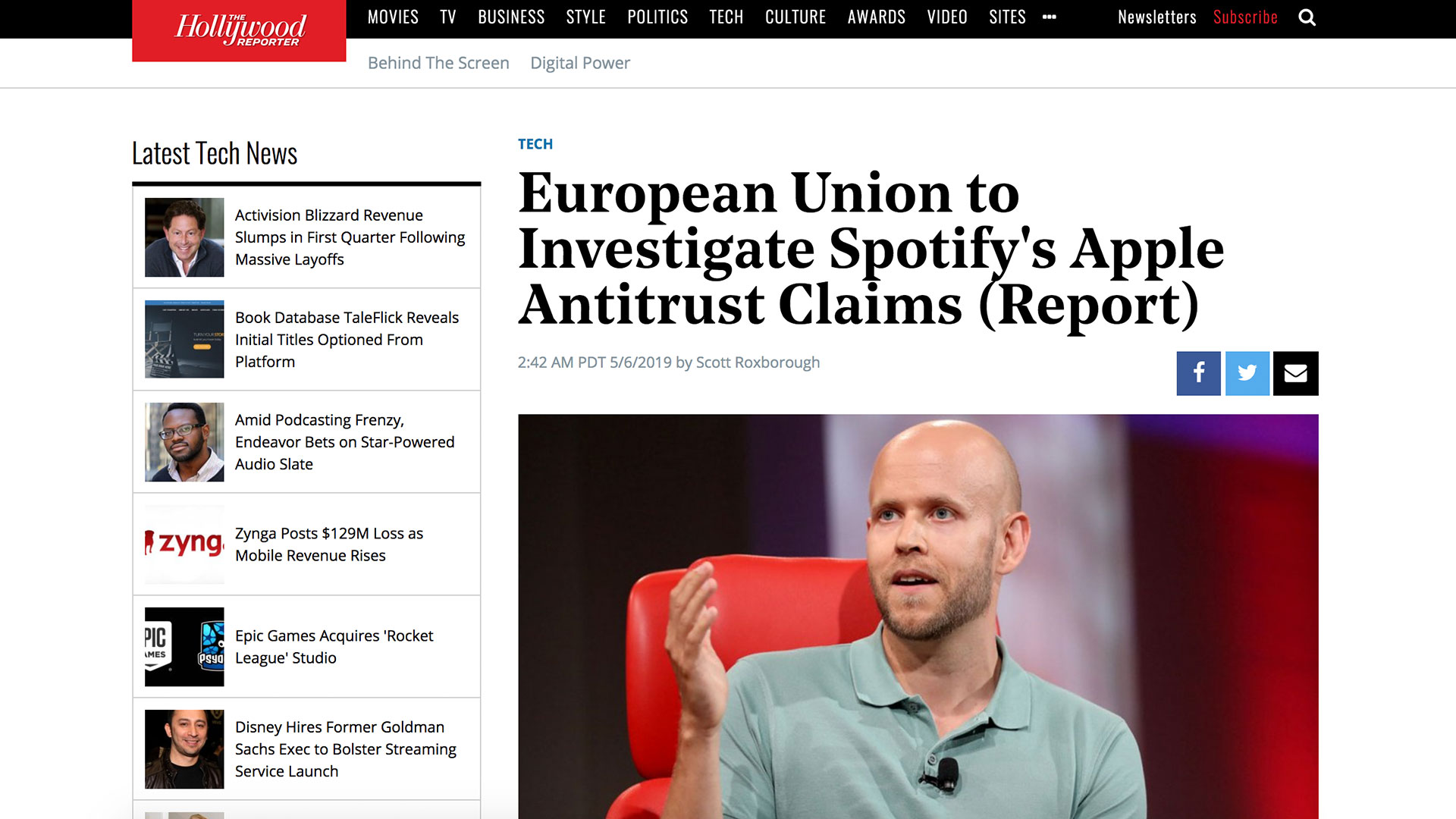 Fairness Rocks News European Union to Investigate Spotify's Apple Antitrust Claims (Report)