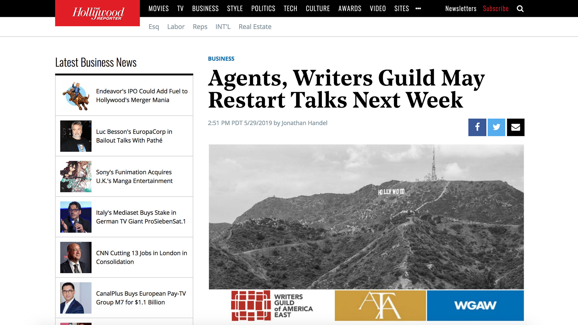 Fairness Rocks News Agents, Writers Guild May Restart Talks Next Week