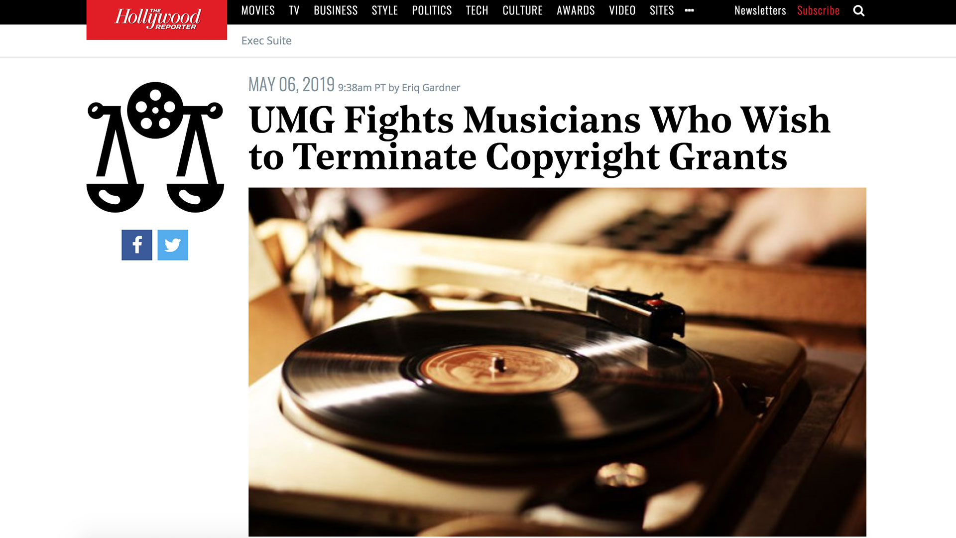 Fairness Rocks News UMG Fights Musicians Who Wish to Terminate Copyright Grants
