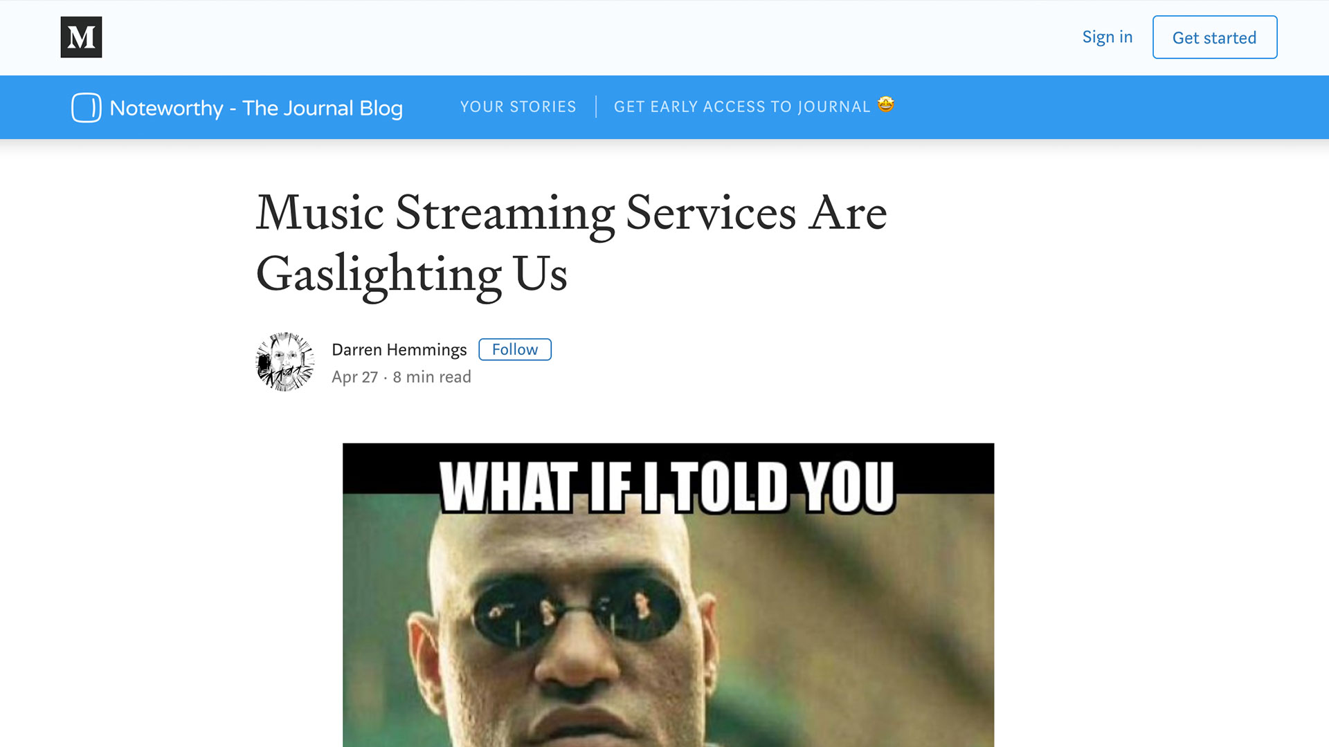 Fairness Rocks News Music Streaming Services Are Gaslighting Us