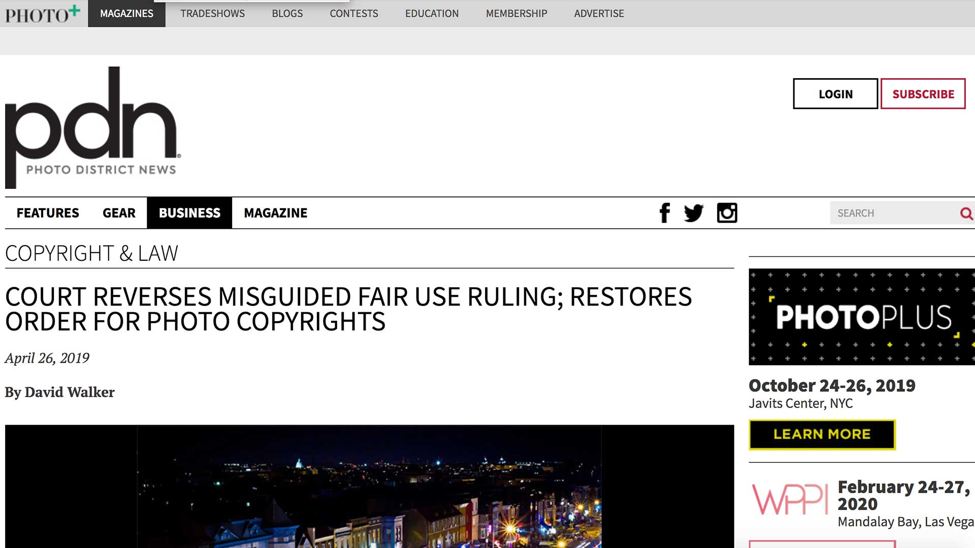 Fairness Rocks News COURT REVERSES MISGUIDED FAIR USE RULING; RESTORES ORDER FOR PHOTO COPYRIGHTS