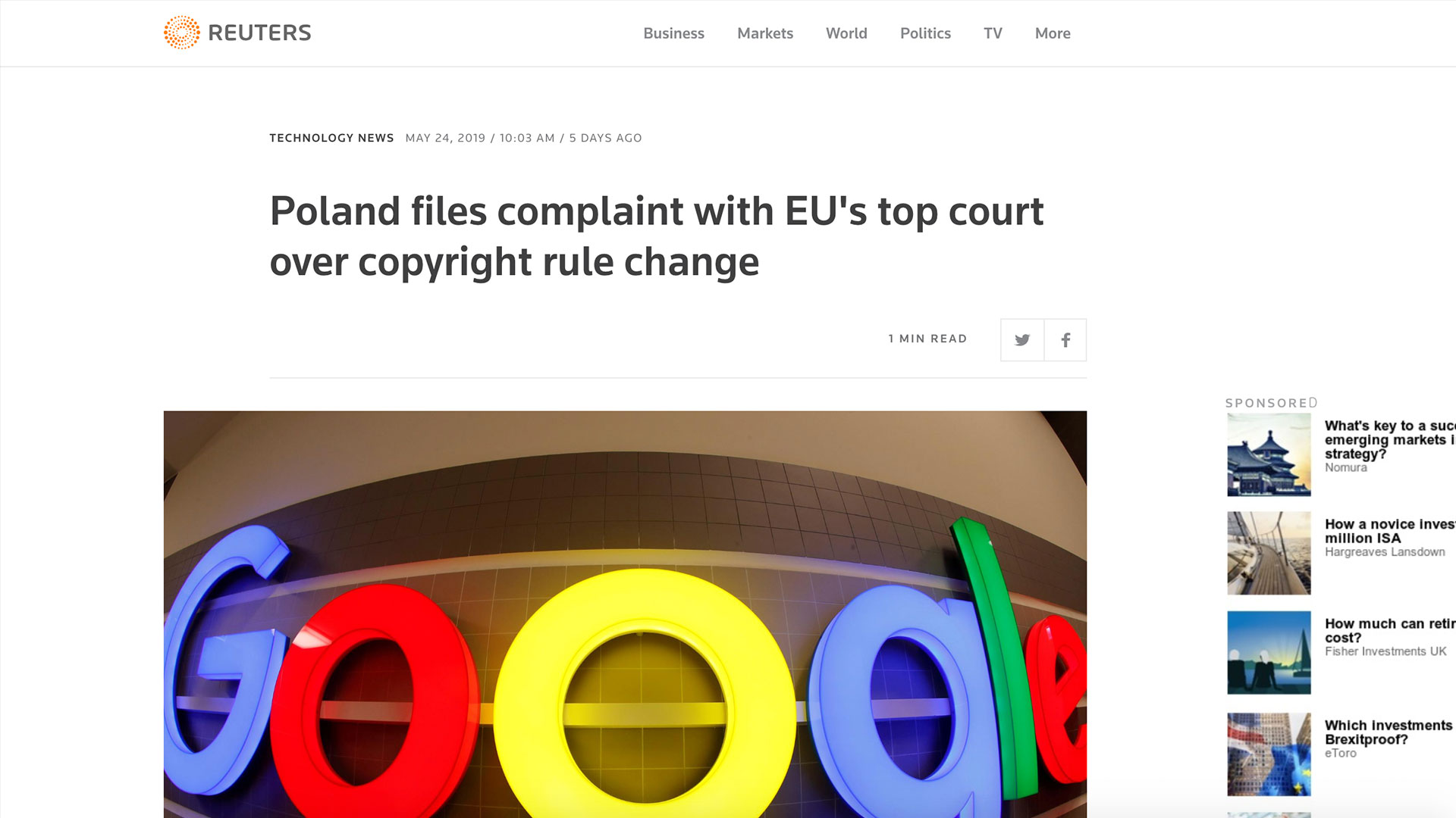 Fairness Rocks News Poland files complaint with EU's top court over copyright rule change