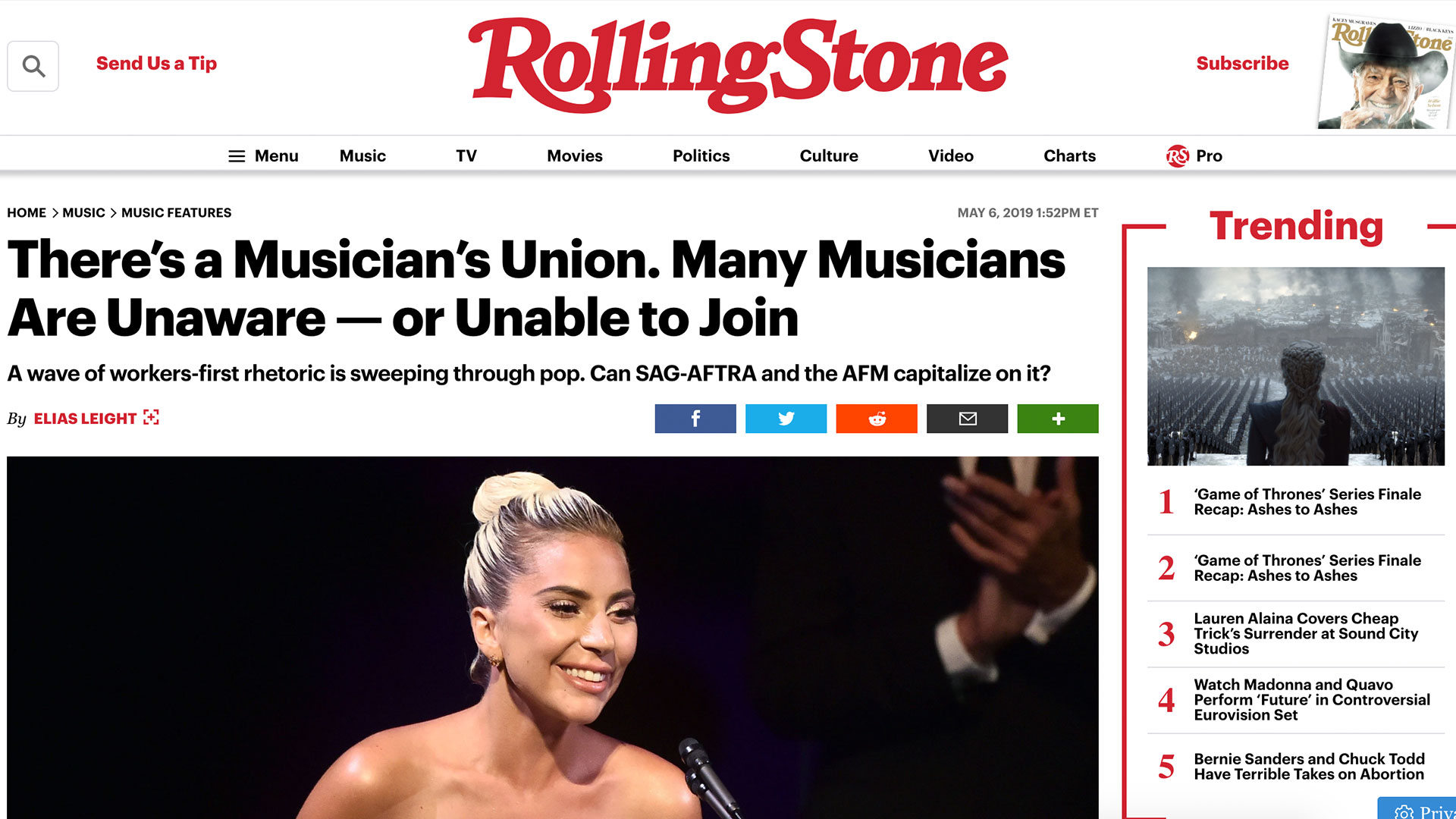 Fairness Rocks News There's a Musician's Union. Many Musicians Are Unaware — or Unable to Join