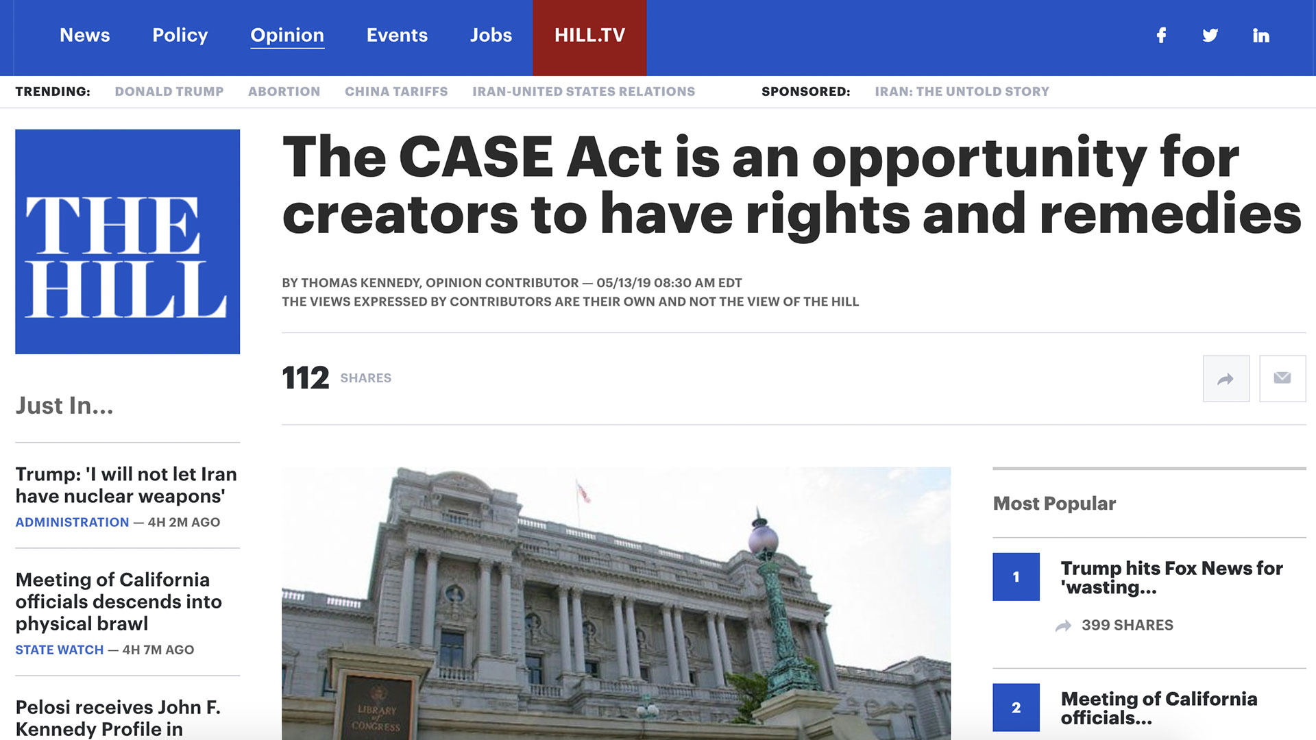 Fairness Rocks News The CASE Act is an opportunity for creators to have rights and remedies
