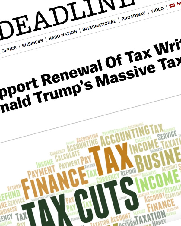 Fairness Rocks News Actors Unions Support Renewal Of Tax Write-Off Eliminated By Donald Trump's Massive Tax Cut