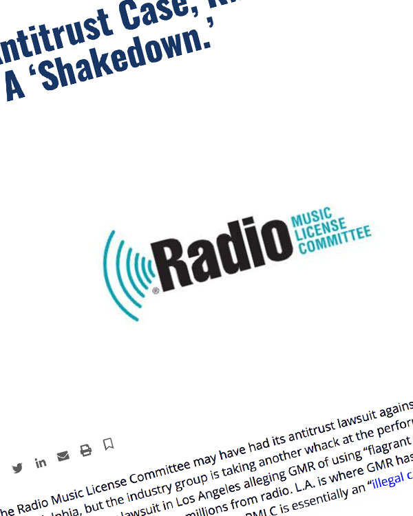 Fairness Rocks News In New Antitrust Case, RMLC Accuses GMR Of A 'Shakedown.'