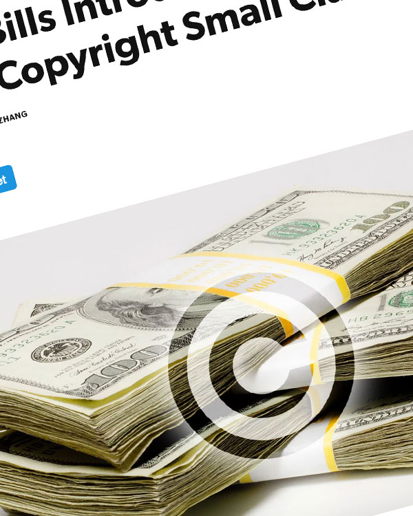 Fairness Rocks News CASE Act Bills Introduced in Congress to Create Copyright Small Claims