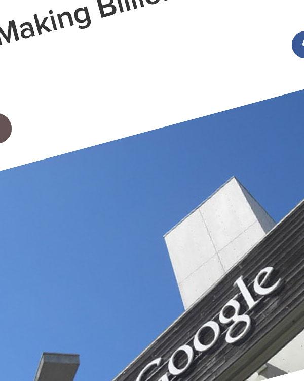 Fairness Rocks News Google Is Making Billions at the Media's Expense