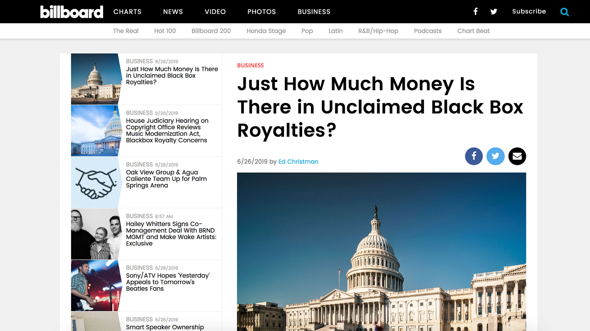 Fairness Rocks News Just How Much Money Is There in Unclaimed Black Box Royalties?