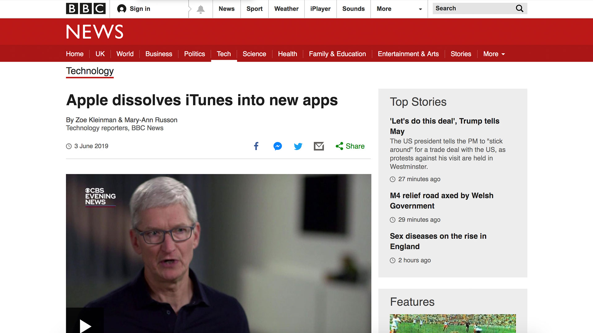 Fairness Rocks News Apple dissolves iTunes into new apps
