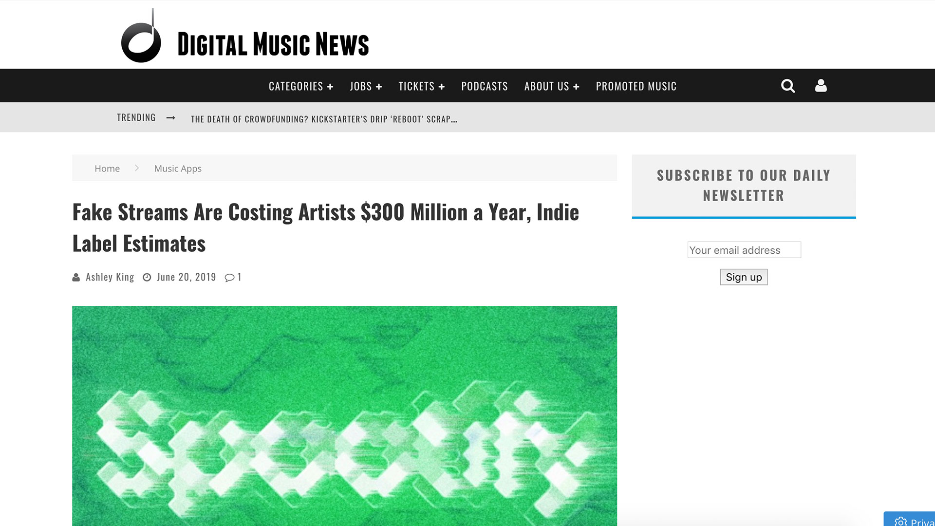 Fairness Rocks News Fake Streams Are Costing Artists $300 Million a Year, Indie Label Estimates