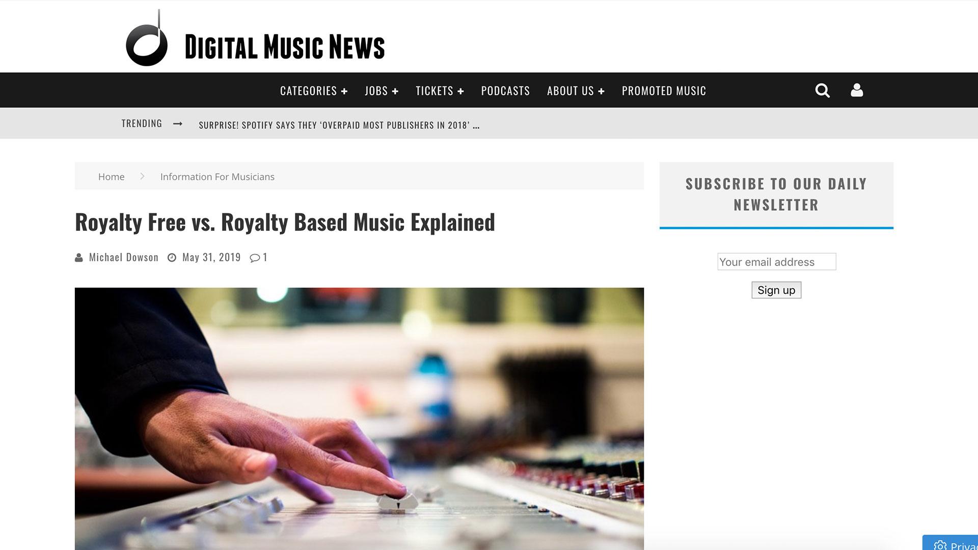 Fairness Rocks News Royalty Free vs. Royalty Based Music Explained
