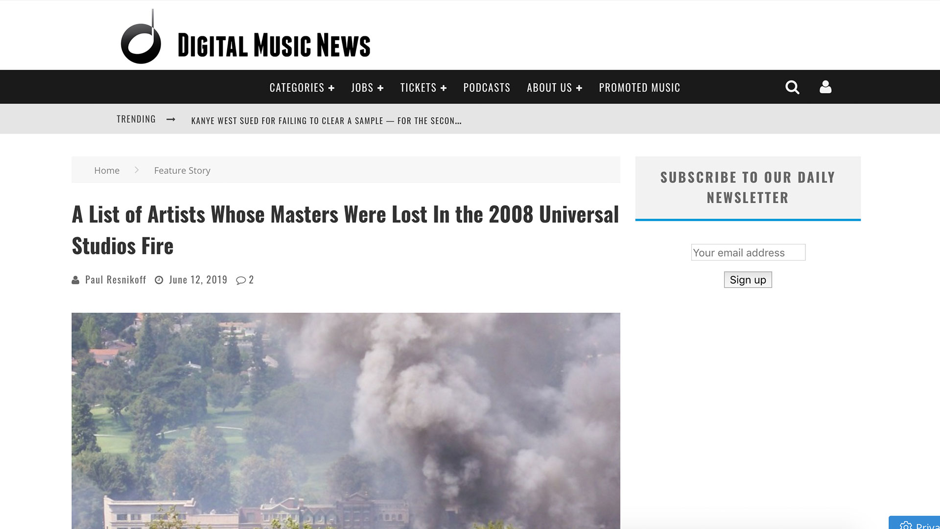 Fairness Rocks News A List of Artists Whose Masters Were Lost In the 2008 Universal Studios Fire