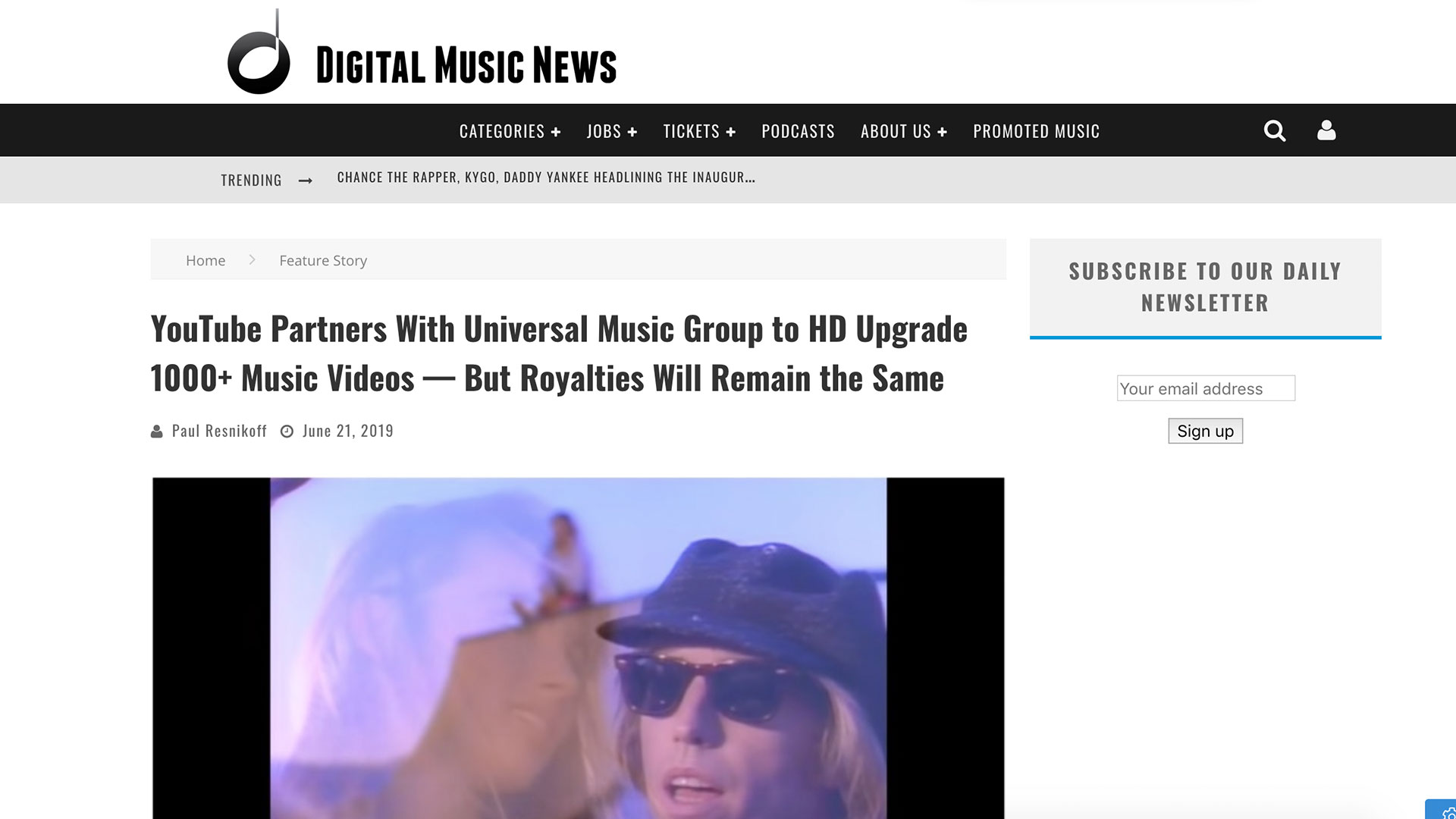 Fairness Rocks News YouTube Partners With Universal Music Group to HD Upgrade 1000+ Music Videos — But Royalties Will Remain the Same