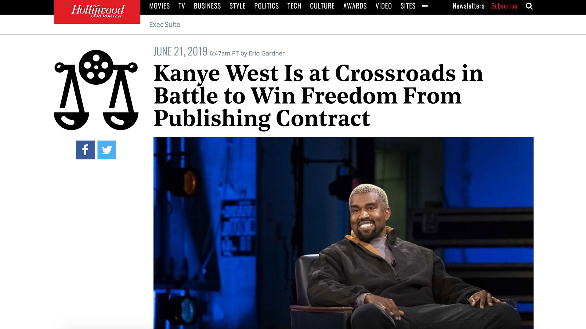 Fairness Rocks News Kanye West Is at Crossroads in Battle to Win Freedom From Publishing Contract