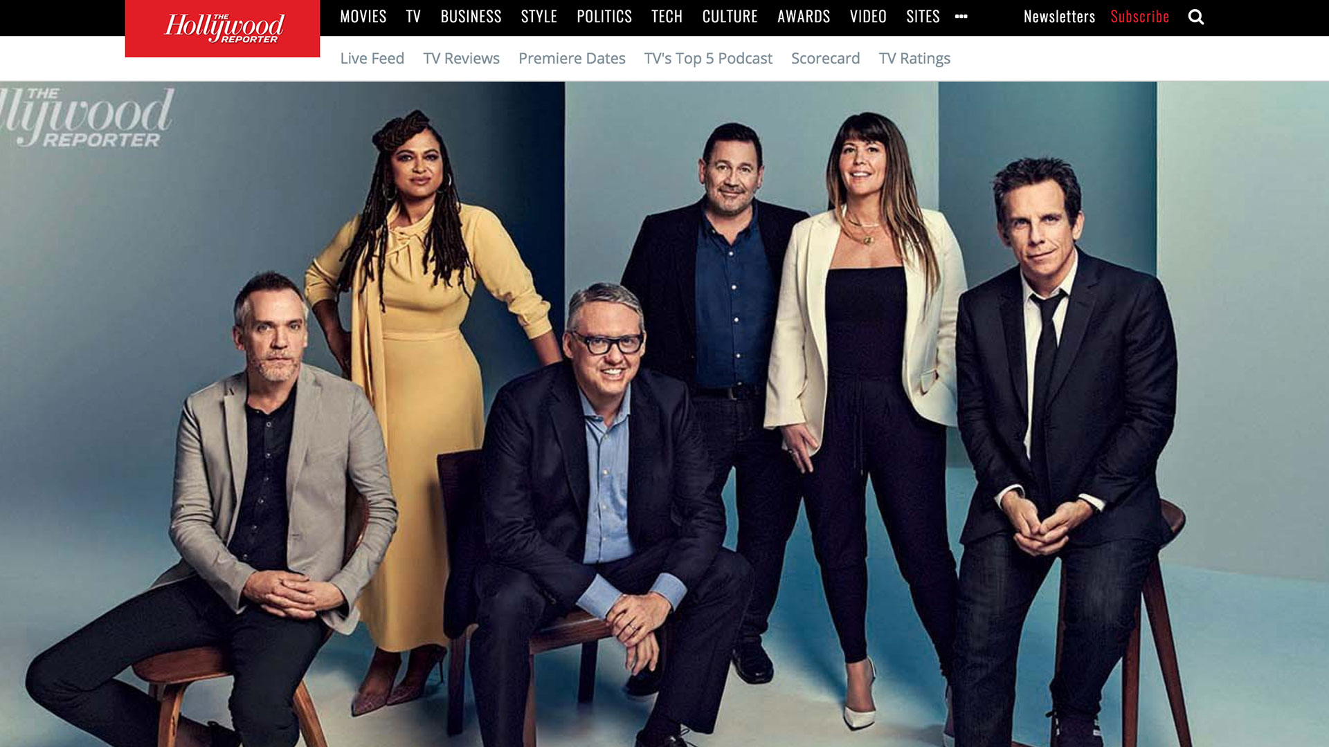 """Fairness Rocks News """"It's Part of the Job to Be Unsure"""": Ava DuVernay, Ben Stiller and The Hollywood Reporter TV Director Roundtable"""