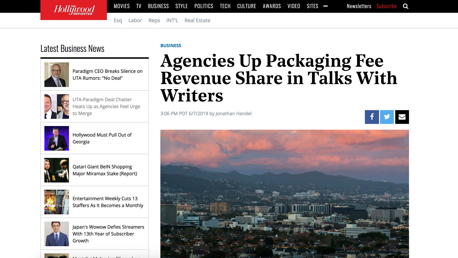 Fairness Rocks News Agencies Up Packaging Fee Revenue Share in Talks With Writers
