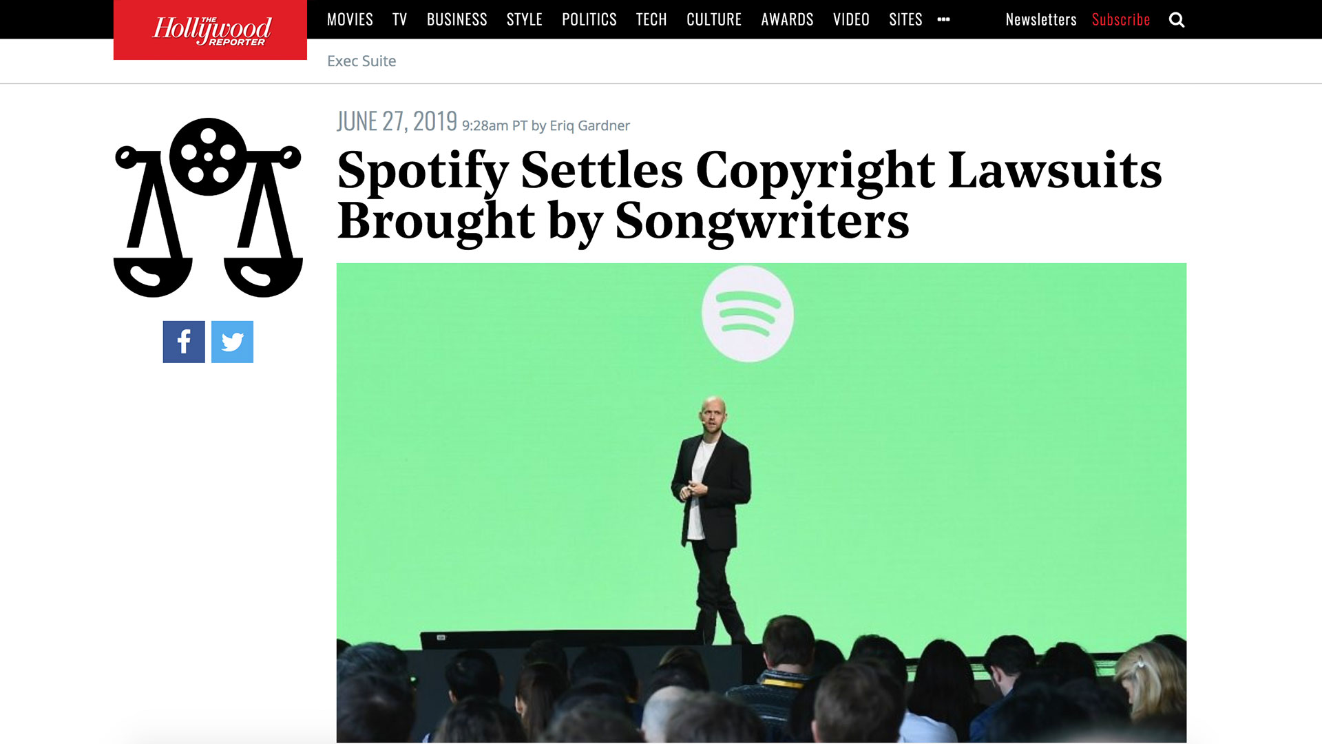 Fairness Rocks News Spotify Settles Copyright Lawsuits Brought by Songwriters
