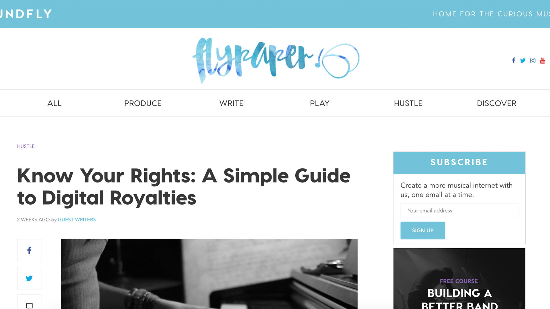 Fairness Rocks News Know Your Rights: A Simple Guide to Digital Royalties