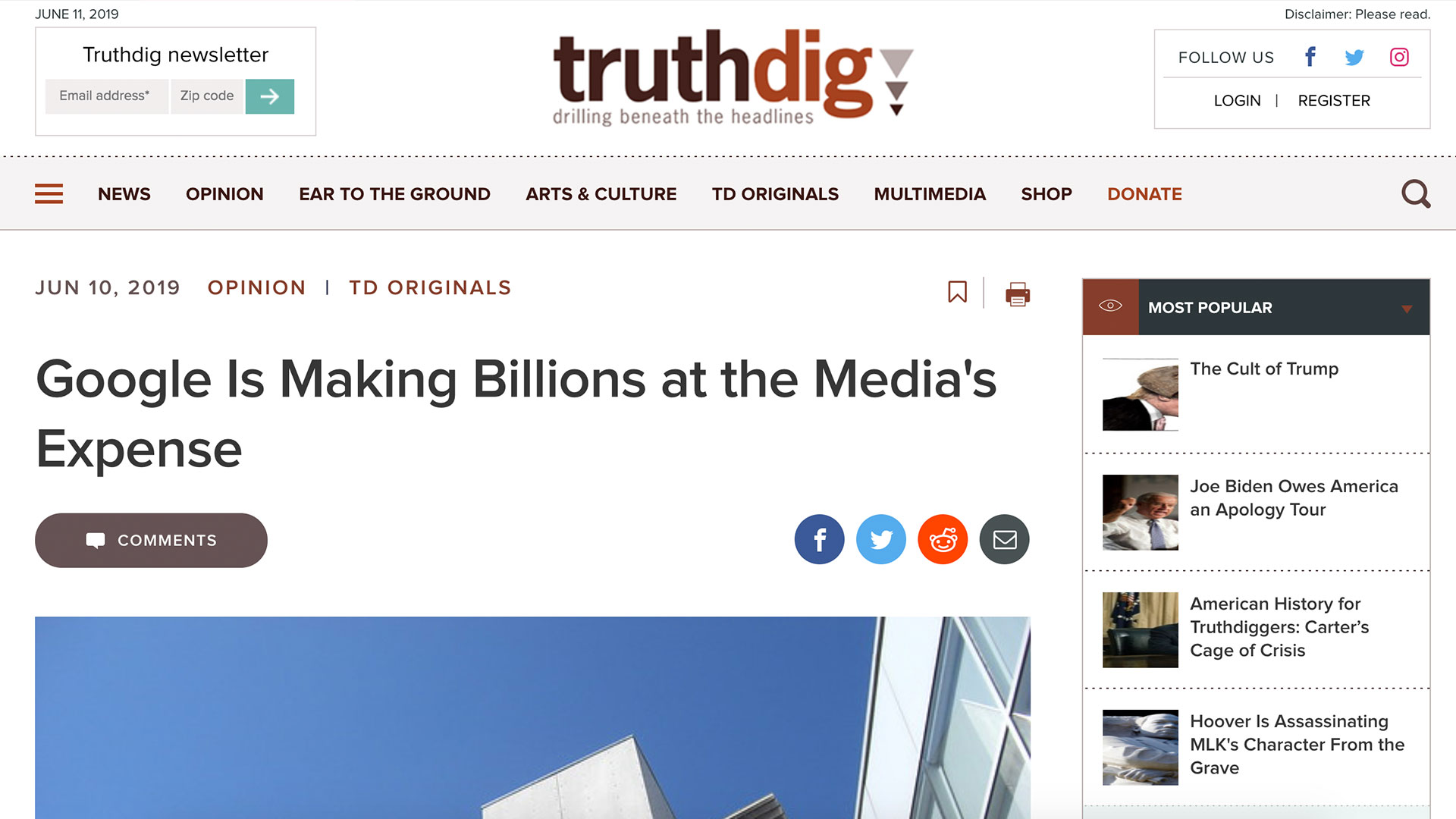 Fairness Rocks News Google Is Making Billions at the Media's Expense