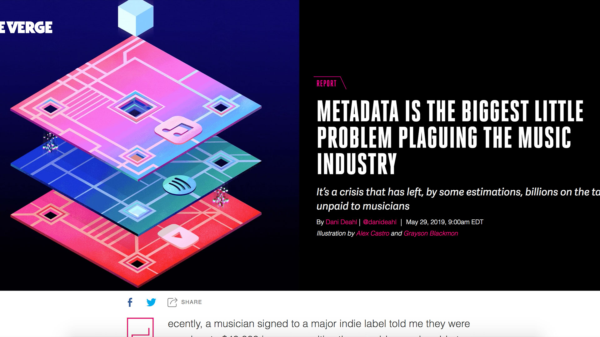 Fairness Rocks News METADATA IS THE BIGGEST LITTLE PROBLEM PLAGUING THE MUSIC INDUSTRY