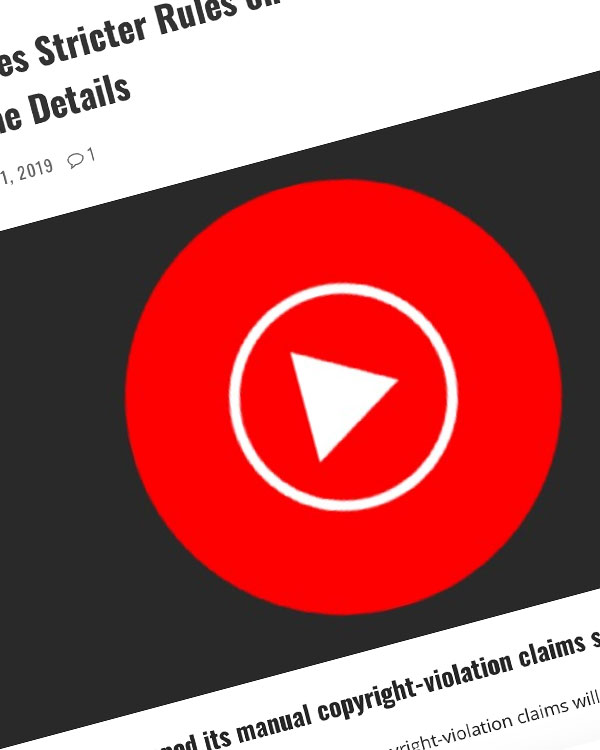 Fairness Rocks News YouTube Imposes Stricter Rules on Manual Content ID Claims — Here Are the Details