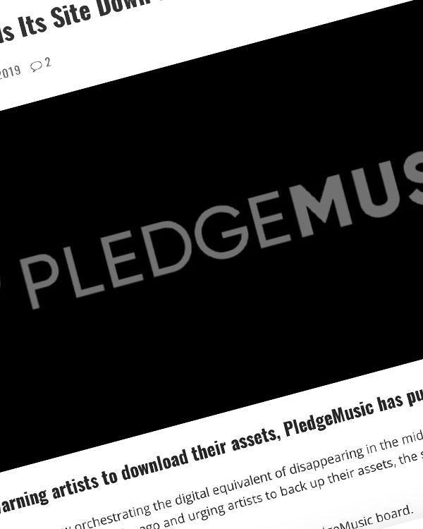 Fairness Rocks News PledgeMusic Pulls Its Site Down as Artists Remain Unpaid