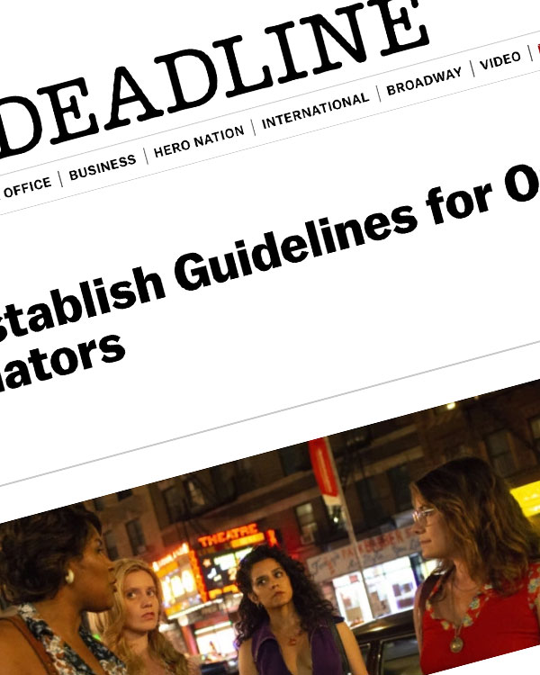 Fairness Rocks News SAG-AFTRA To Establish Guidelines for On-Set Intimacy Coordinators