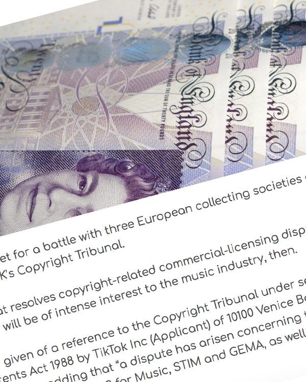 Fairness Rocks News TikTok takes on collecting societies at UK Copyright Tribunal