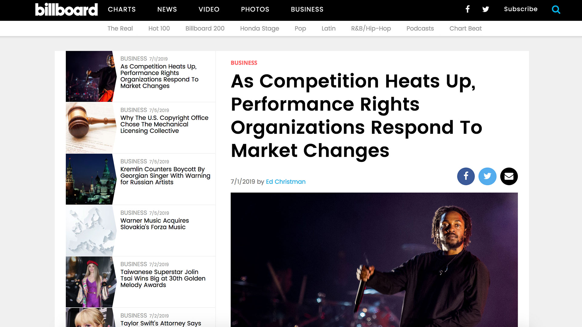 Fairness Rocks News As Competition Heats Up, Performance Rights Organizations Respond To Market Changes