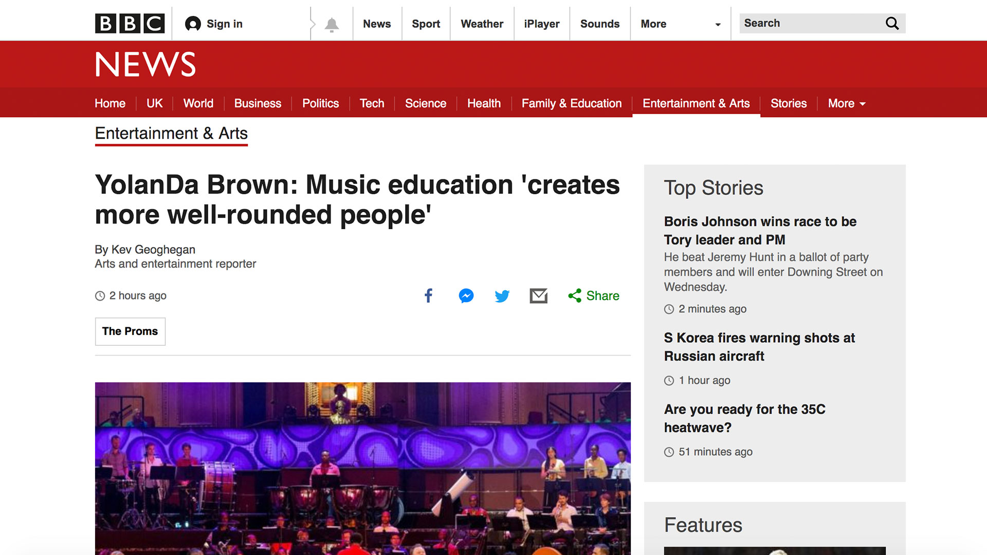 Fairness Rocks News YolanDa Brown: Music education 'creates more well-rounded people'