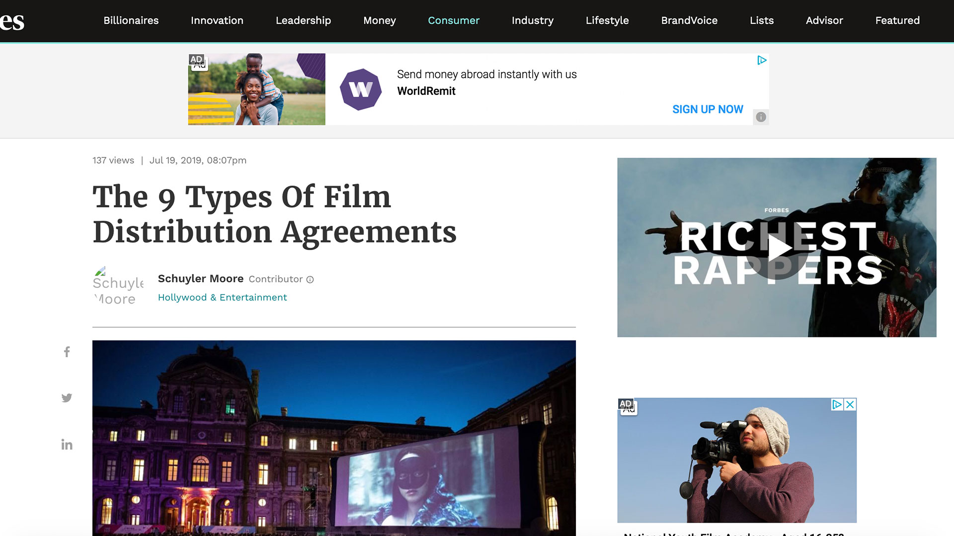 Fairness Rocks News The 9 Types Of Film Distribution Agreements