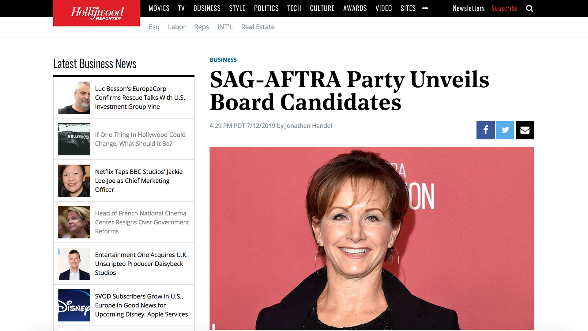 Fairness Rocks News SAG-AFTRA Party Unveils Board Candidates