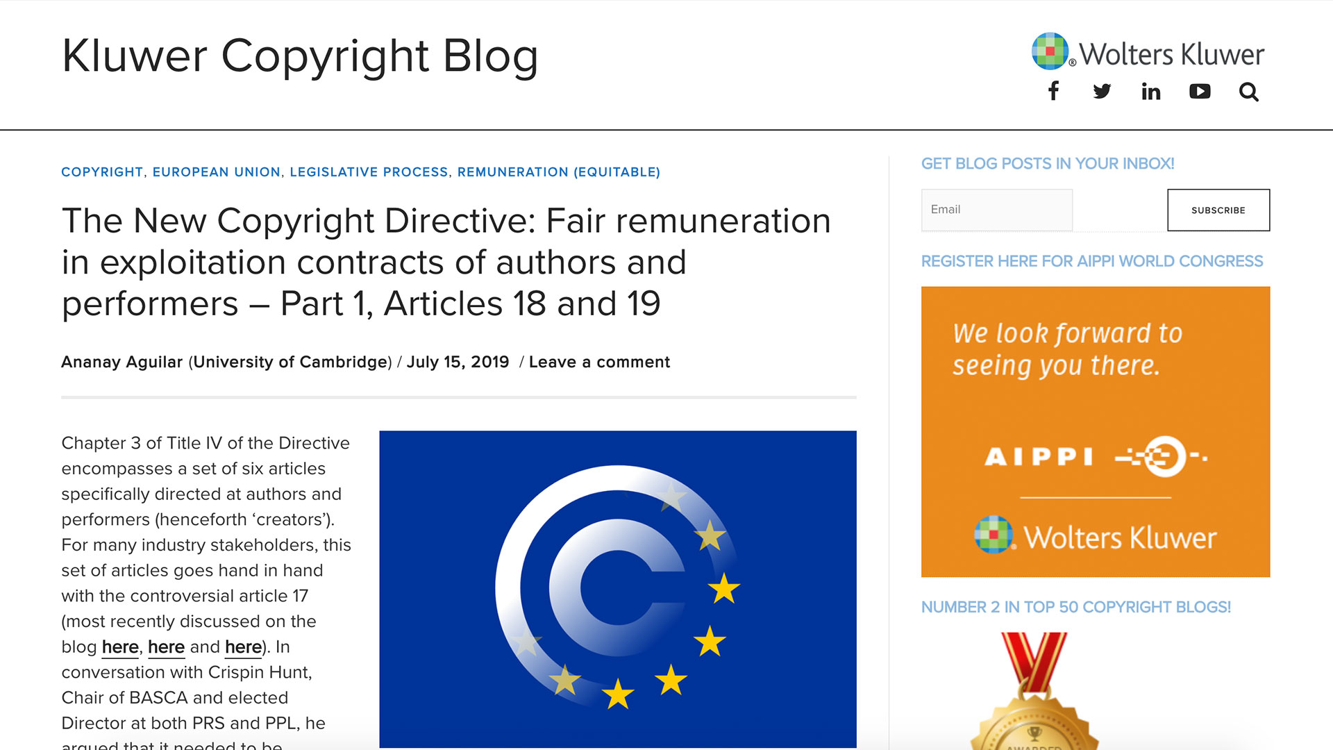 Fairness Rocks News The New Copyright Directive: Fair remuneration in exploitation contracts of authors and performers – Part 1, Articles 18 and 19