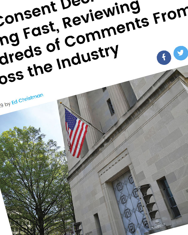 Fairness Rocks News DOJ Consent Decree Review Moving Fast, Reviewing Hundreds of Comments From Across the Industry