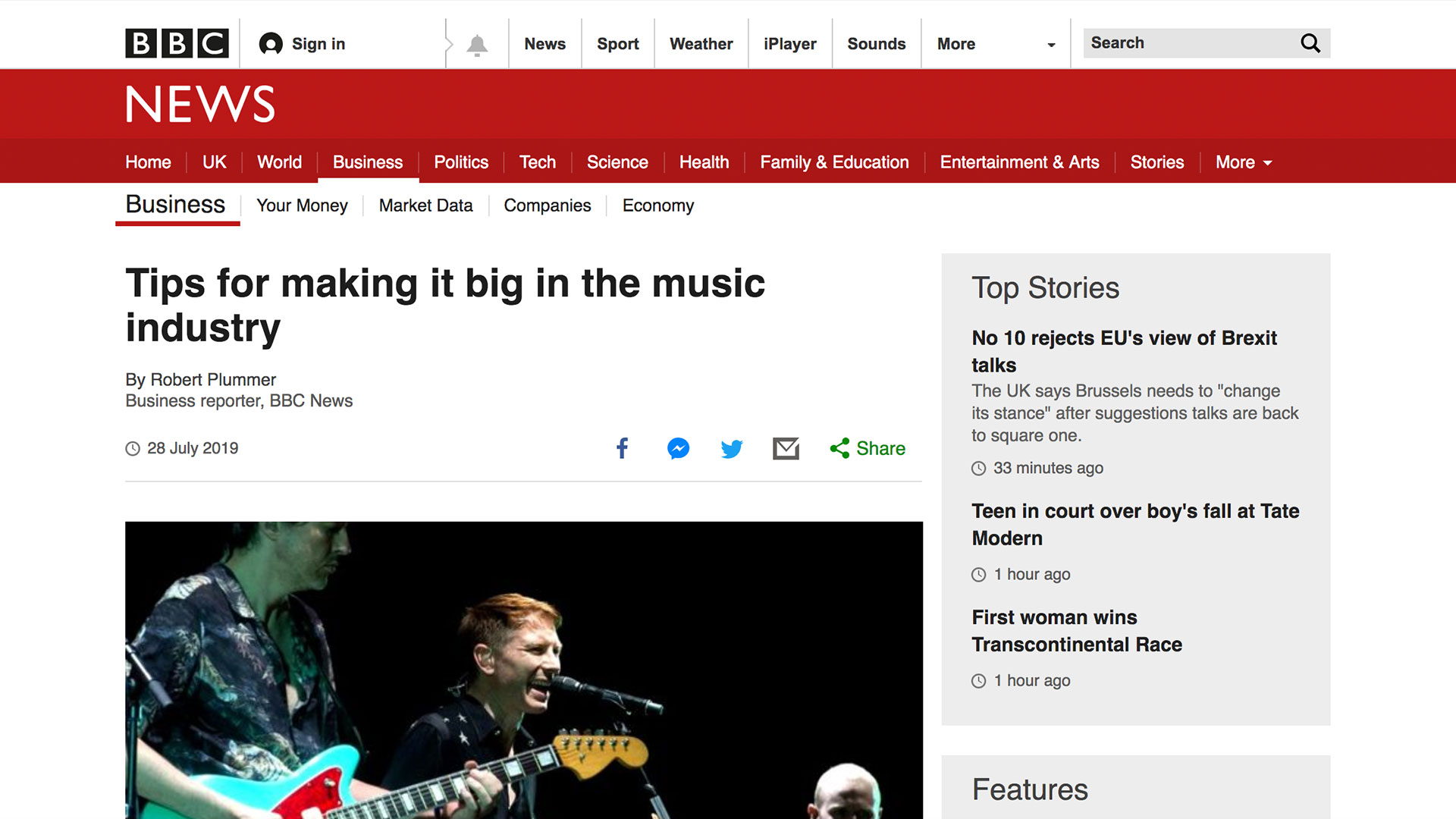 Fairness Rocks News Tips for making it big in the music industry