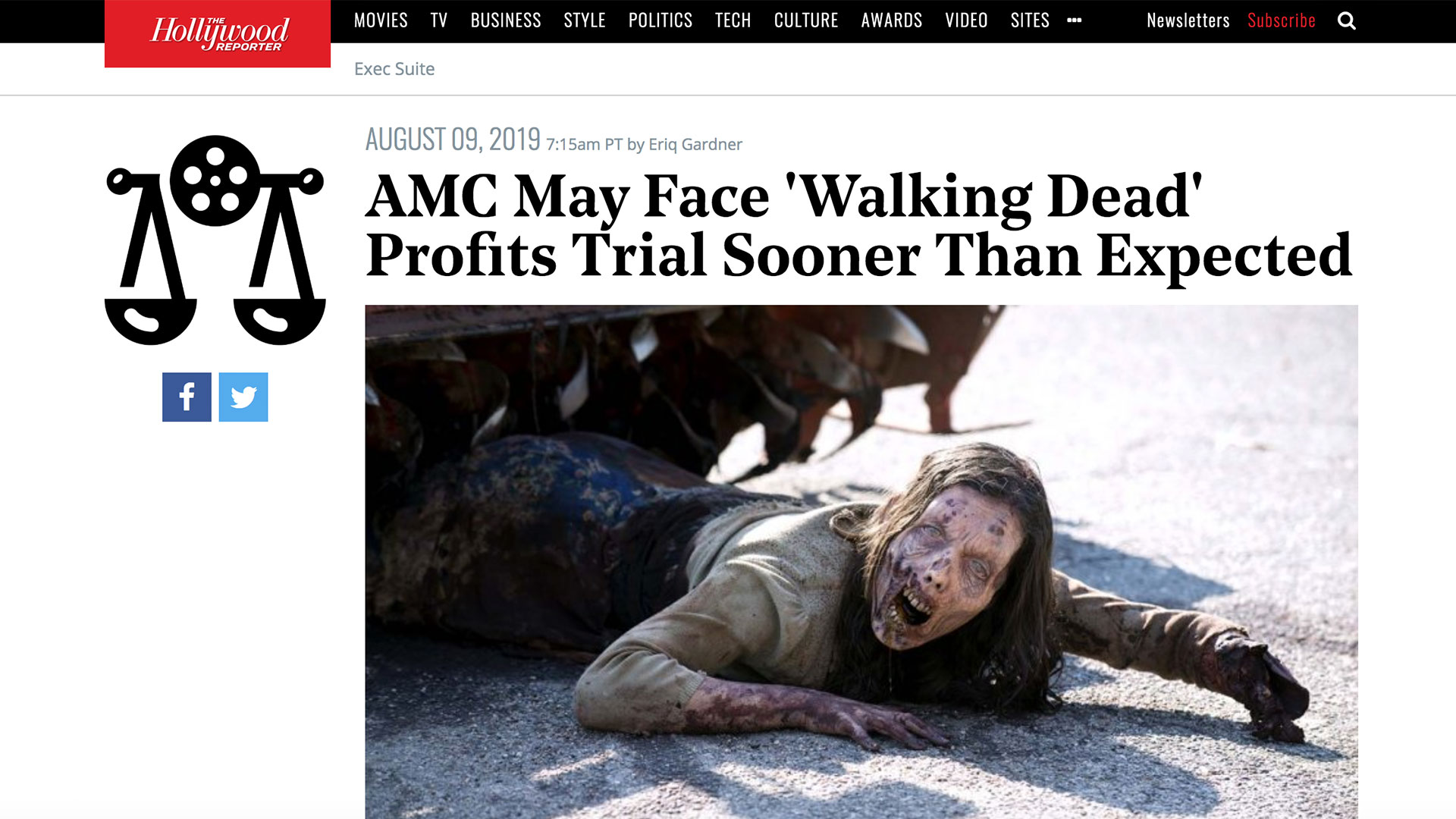 Fairness Rocks News AMC May Face 'Walking Dead' Profits Trial Sooner Than Expected