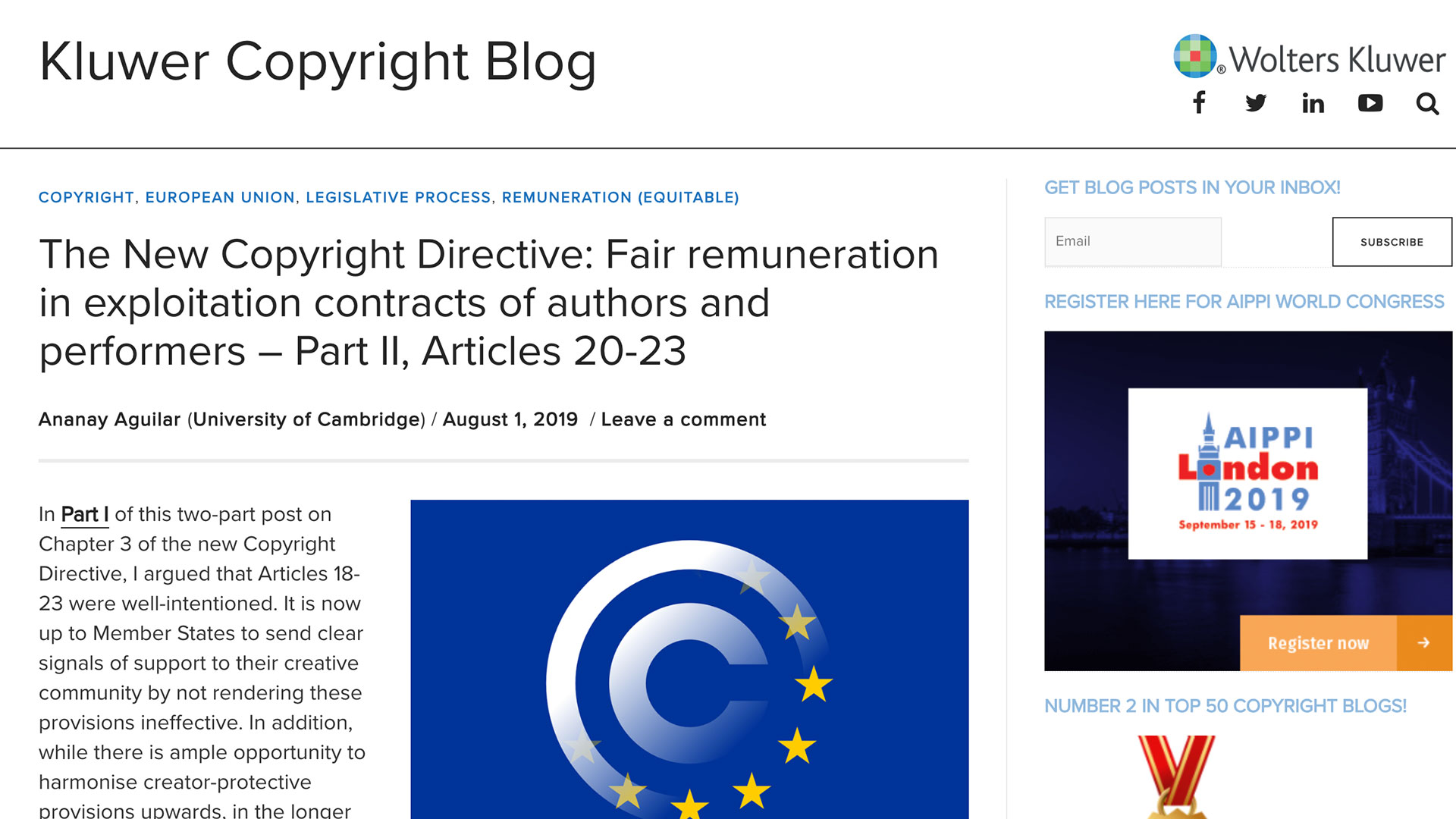 Fairness Rocks News The New Copyright Directive: Fair remuneration in exploitation contracts of authors and performers – Part II, Articles 20-23