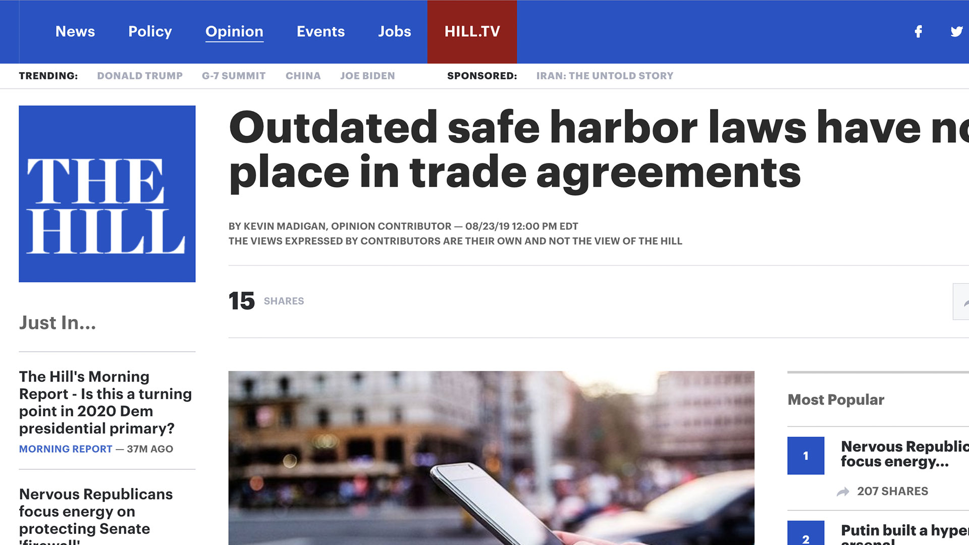 Fairness Rocks News Outdated safe harbor laws have no place in trade agreements