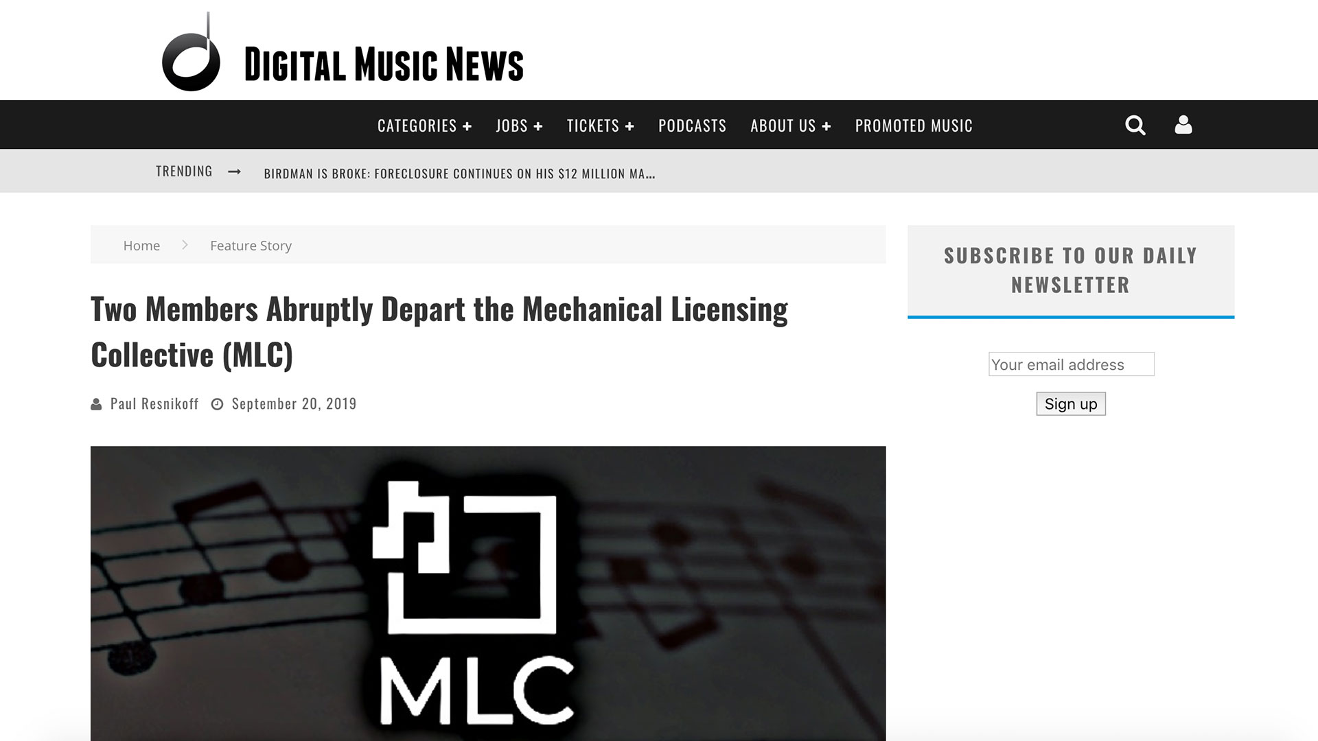 Fairness Rocks News Two Members Abruptly Depart the Mechanical Licensing Collective (MLC)