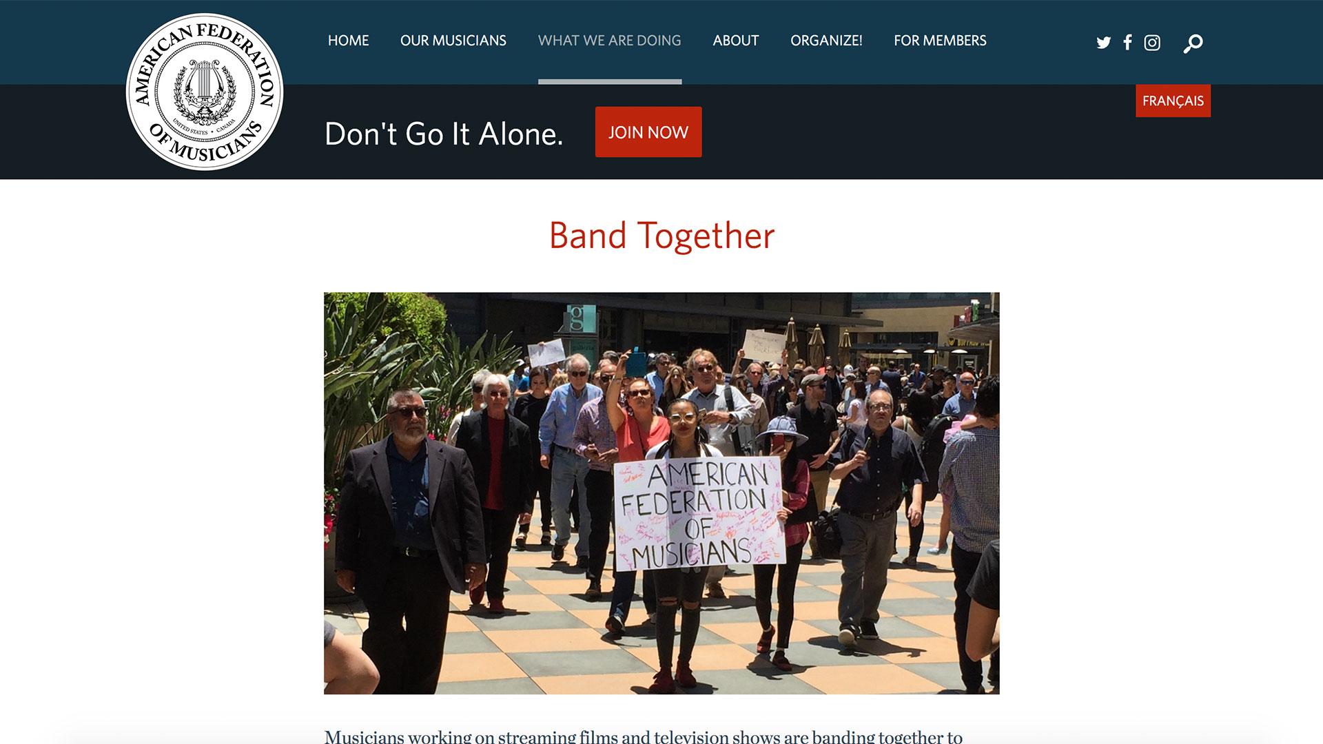 Fairness Rocks News Band Together