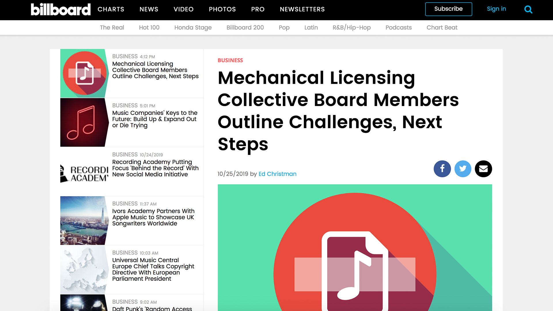 Fairness Rocks News Mechanical Licensing Collective Board Members Outline Challenges, Next Steps