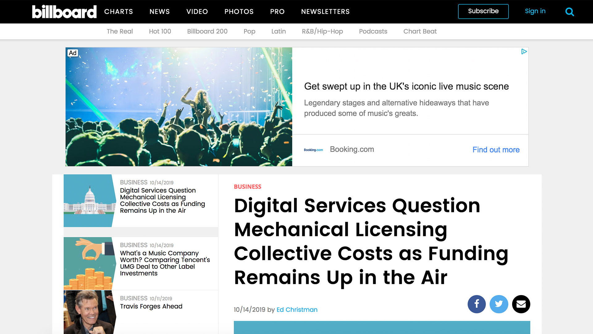 Fairness Rocks News Digital Services Question Mechanical Licensing Collective Costs as Funding Remains Up in the Air