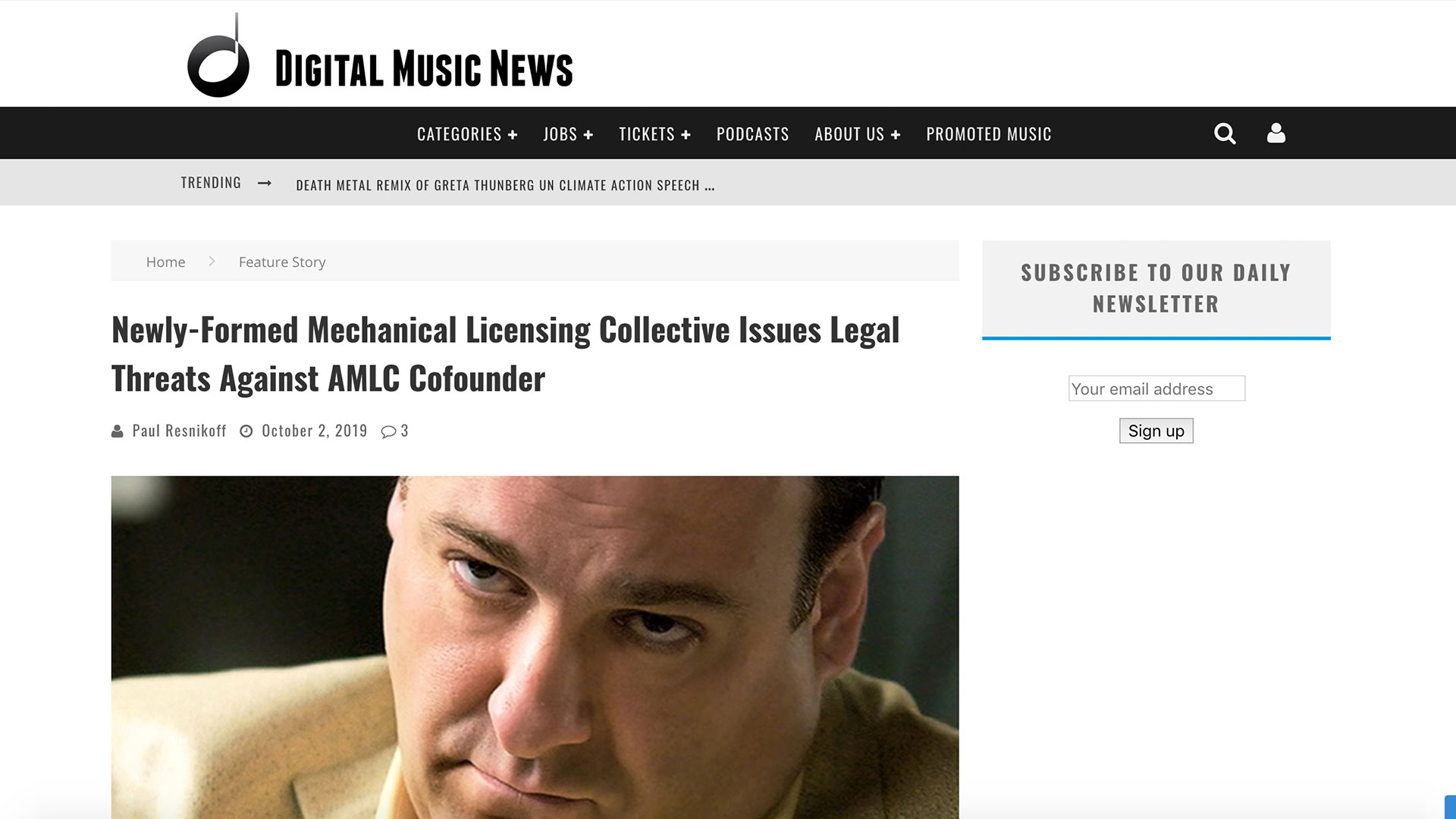 Fairness Rocks News Newly-Formed Mechanical Licensing Collective Issues Legal Threats Against AMLC Cofounder