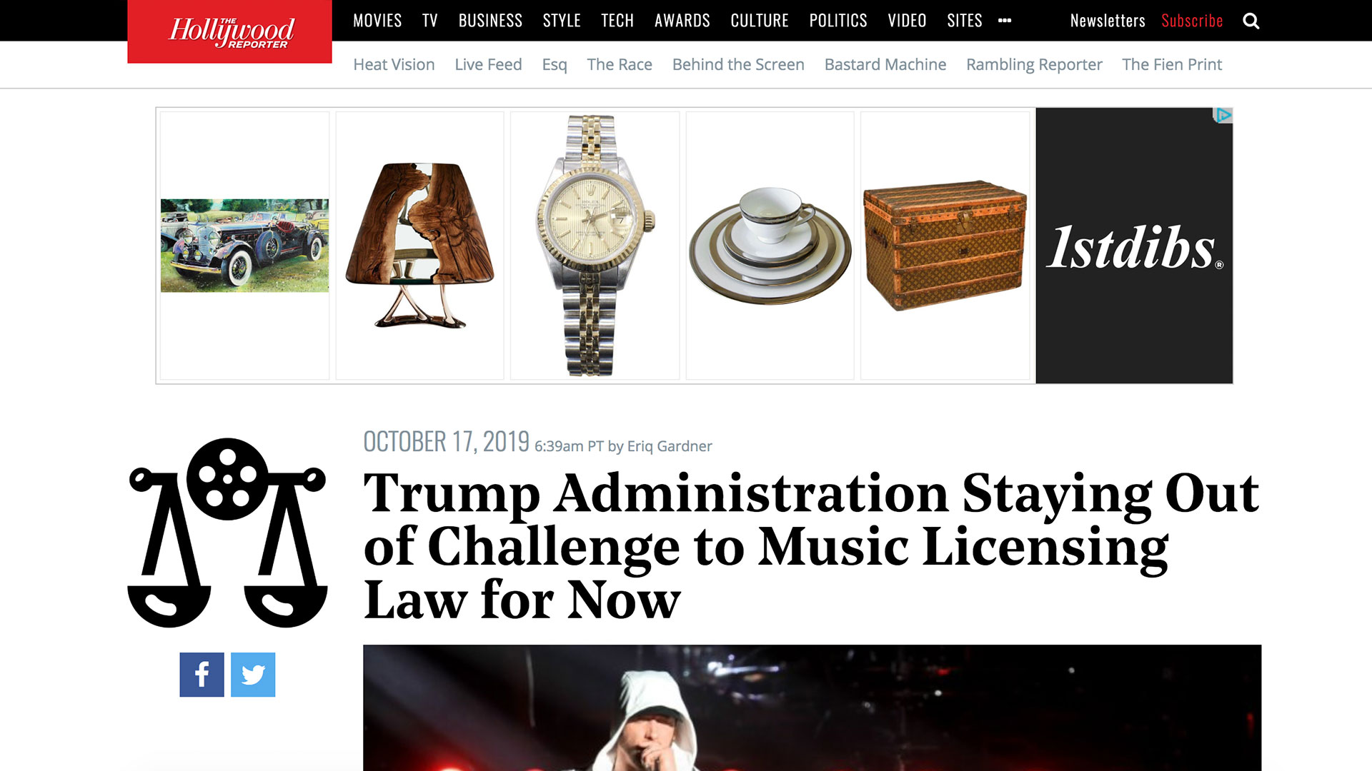 Fairness Rocks News Trump Administration Staying Out of Challenge to Music Licensing Law for Now