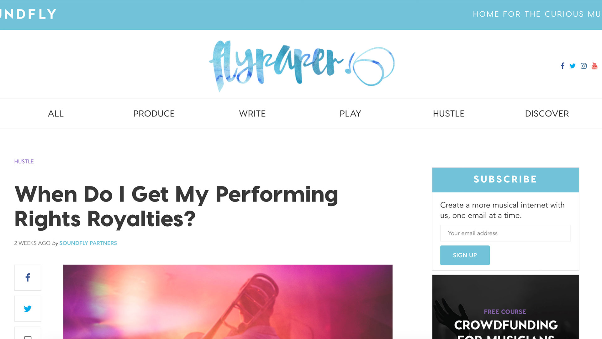 Fairness Rocks News When Do I Get My Performing Rights Royalties?