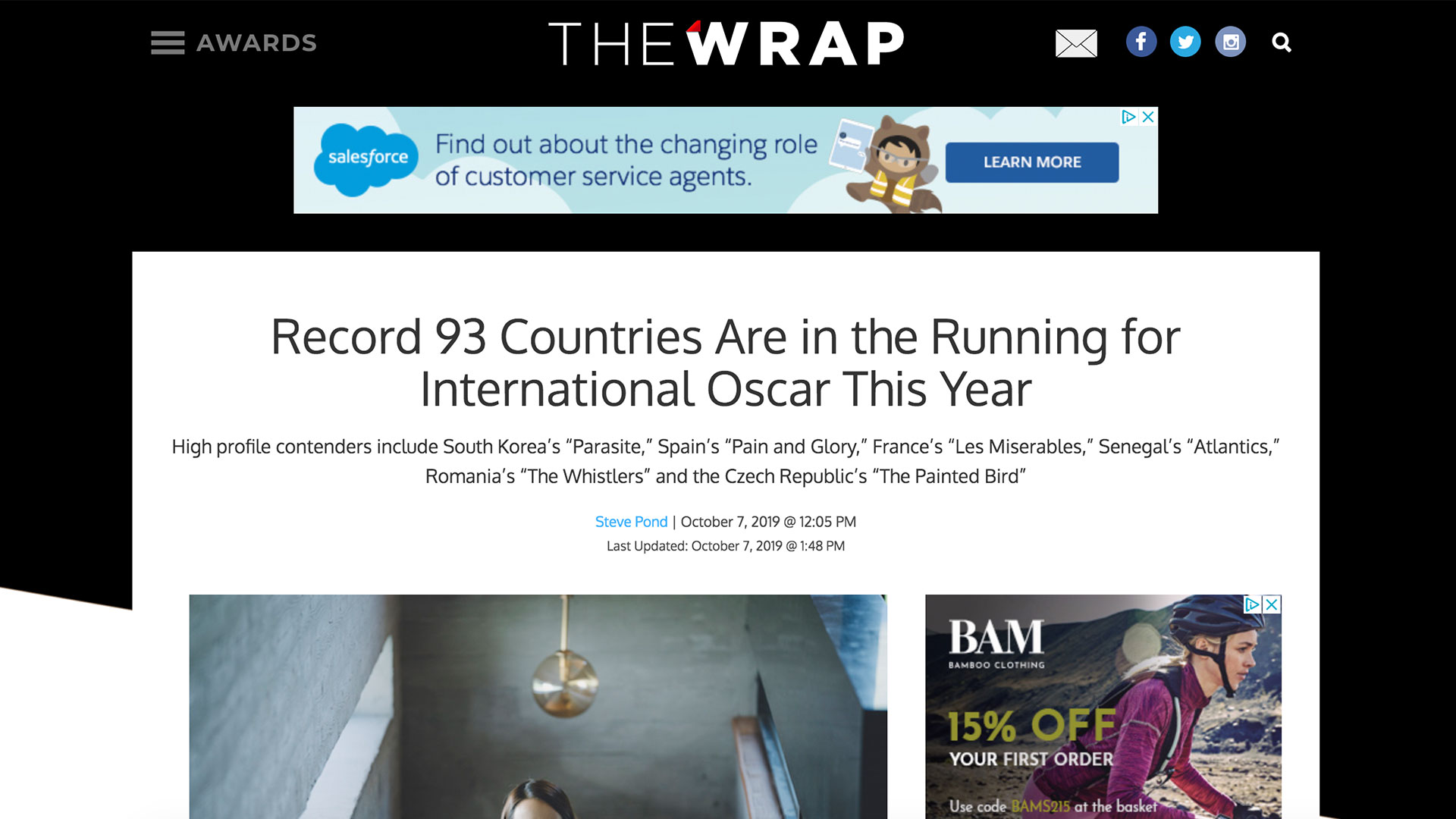 Fairness Rocks News Record 93 Countries Are in the Running for International Oscar This Year