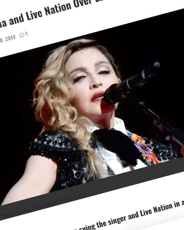 Fairness Rocks News Fans Sue Madonna and Live Nation Over Late Concerts